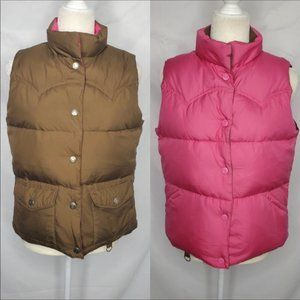 AMERICAN EAGLE OUTFITTERS REVERSIBLE VEST